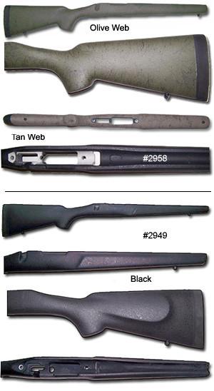 Bell & Carlson Sendero / Varmint / Police Medalist Style 1 Remington 700™  Short Action