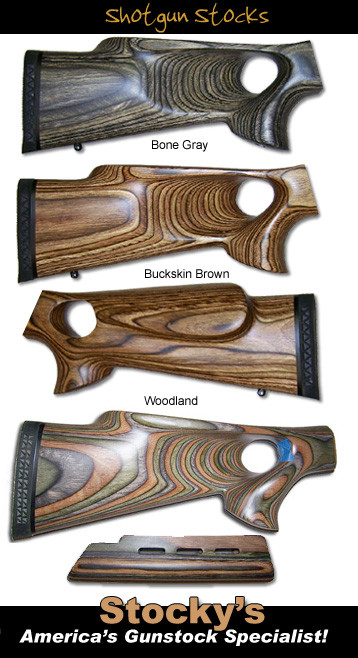Thumbhole 2pc Shotgun Stocks - Remington 870 / Mossberg 500 835 (Right & Left Hand Available)