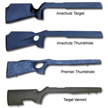 Bell & Carlson Ruger 10/22 Stocks - Target/Varmint, Anschutz, Anschutz Thumbhole & Premier Thumbhole