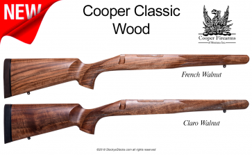 Cooper Sporting Classic - Remington 700™ French and Claro Walnut Stocks