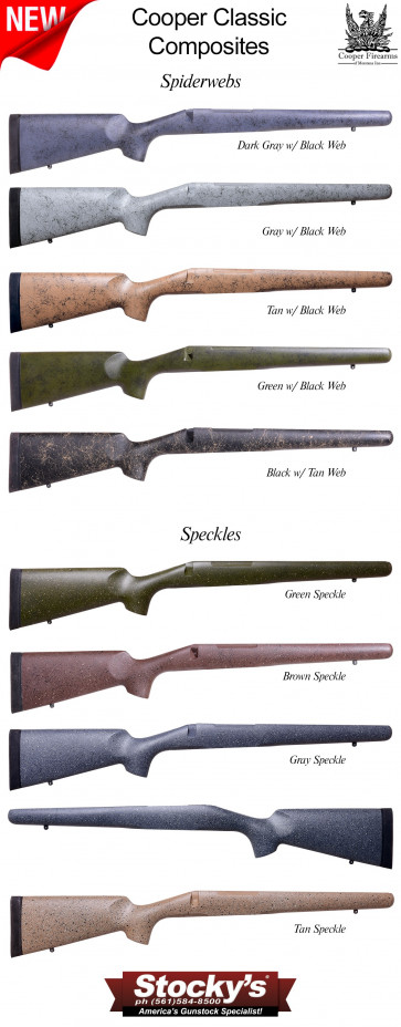 Cooper Sporting Classic - Remington 700™ Lightweight Hand Layup Stocks