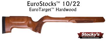 Stocky's® EuroTarget™ Designed For Ruger® 10/22® Hardwood Stock - Factory Barrel