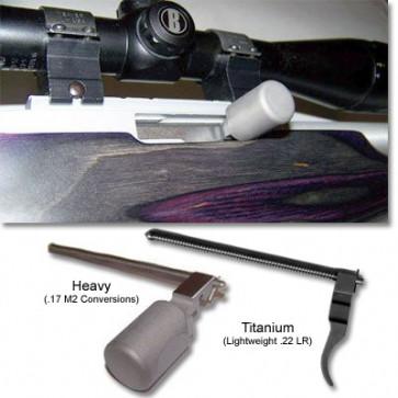 Power Custom 10-22 Titanium Bolt Handle Assembly