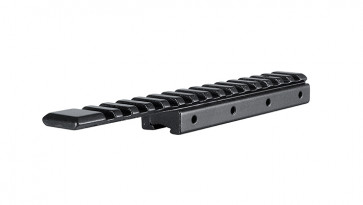 """Hawke Hawke® Adapter Base 1 Piece 11mm (Rimfire) / 3/8"""" (Rifle) to Weaver / Picatinny Extension"""