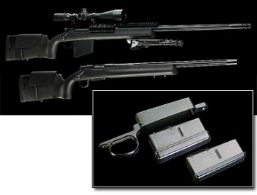 H-S Precision Pro-Series Steel DM Bottom Metal Trigger Guard Assembly - Remington 700 BDL Only