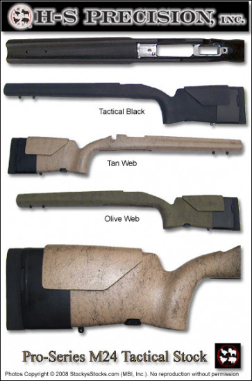 Package Deal! H-S Precision® Pro-Series M24 Adjustable Vertical Grip Varmint Tactical Savage® 10/110 Stock and Proof Research Pre-Fit Carbon Fiber Barrel!