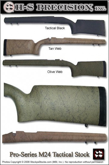 Package Deal! H-S Precision® M24 Vertical Grip Remington 700™ Stock and Proof Research Barrel