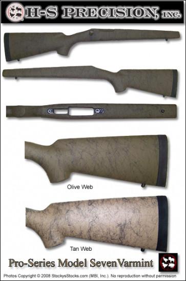 H-S Precision Pro-Series 2000 Varmint Stocks - Remington Model 7 (Seven)