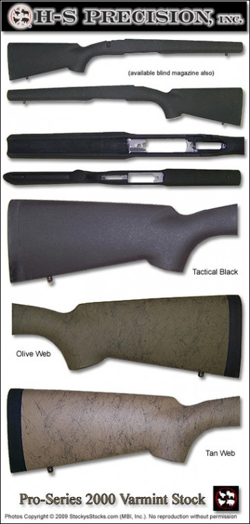 H-S Precision Pro-Series 2000 Savage 10FP   12 Target   Varmint   Tactical   Single Shot & Repeater Stocks PSV 102 106 118 121