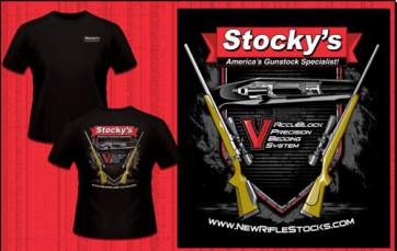 "*NEW! Stocky's ""Target Tees"" T-Shirts"