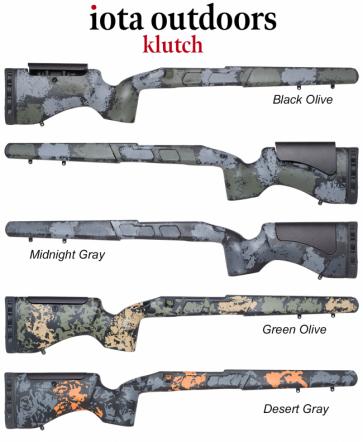 Iota Klutch - Remington 700™ Rifle Stocks and Proof Research Carbon Fiber Barrel