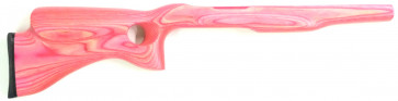 Left Handed Yukon Pink Laminated stock designed for the Ruger® 10/22® .920 Barrel
