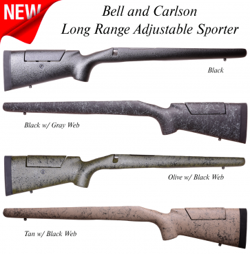 Bell and Carlson Long Range Adjustable Sporter Remington 700™ Long and Short Action