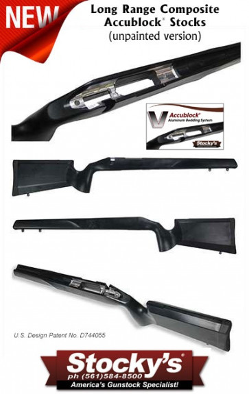 Stocky's® New Long Range Composite Stock (LRC™ Accublock®) - Remington 700™ - Unpainted