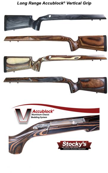Stocky's® Long Range Accublock® Laminated Vertical Grip Sporter / Varmint - Remington 700™