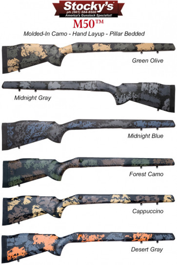 Stocky's® M50™ Fiberglass Remington 700™ Rifle Stocks and Proof Research Carbon Fiber Barrel