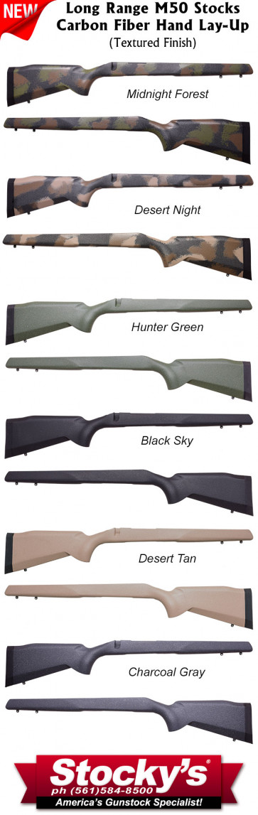 Stocky's® Long Range Carbon Fiber M50™ Remington 700™