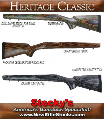 Stocky's Classic Sporter Stock- Remington Model (7) Seven