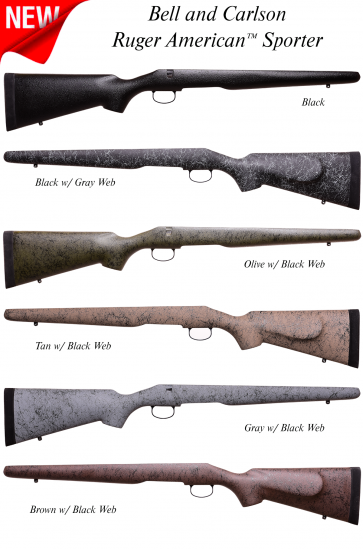 Bell and Carlson Medalist Ruger American™ Sporter Stock