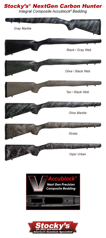NextGen UltraLite Carbon Fiber Hunter Remington 700™ Stocks