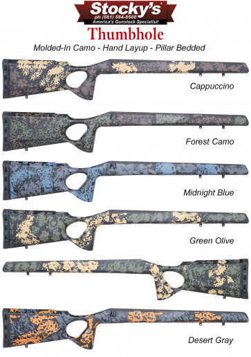 Stocky's® Thumbhole Fiberglass Riflestock