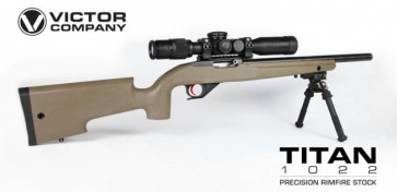 Package Deal! Titan Stock Designed for the Ruger® 1022® with .920 Barrel
