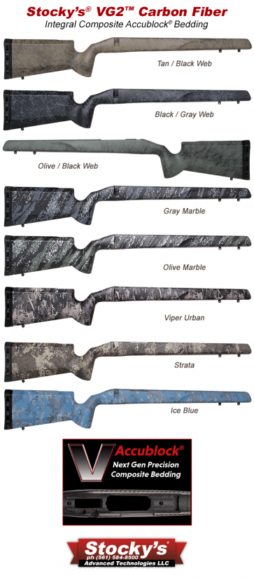 NextGen UltraLite Carbon Fiber VG2™ Remington 700™ Stocks
