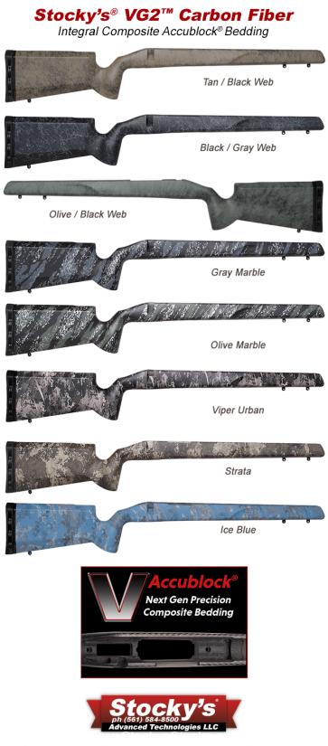 NextGen UltraLite Carbon Fiber VG2™ Remington 700™ Stocks and Proof Research Carbon Fiber Barrel
