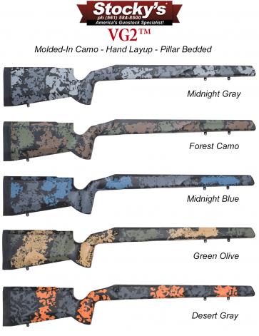 Stocky's® VG2™ Fiberglass Riflestock Remington 700™ & Clones
