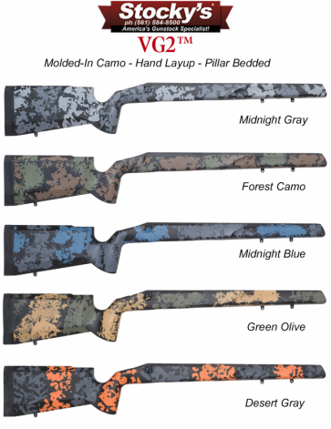 Stocky's® VG2™ Fiberglass Remington 700™ Rifle Stocks and Proof Research Carbon Fiber Barrel