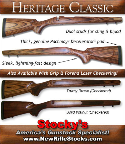 Stocky 39 s classic sporter stocks remington 700 adl bdl for Classic american homes reviews