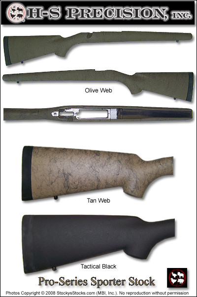 Aluminum Bedded Sporter Stock For Winchester 70 Long And