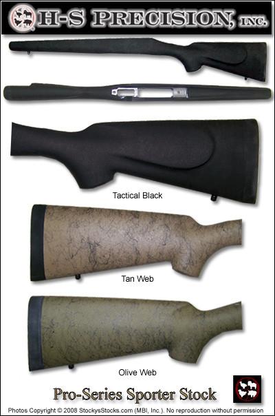 H-S Precision® Pro-Series 2000 Sporter Stocks - Remington 700™ BDL w  Cheekpiece