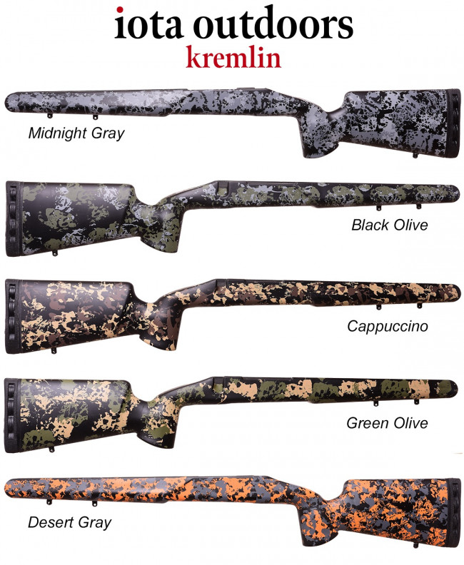 Iota Kremlin Remington 700 Bdl Cdl M5 Fiberglass Rifle Stocks