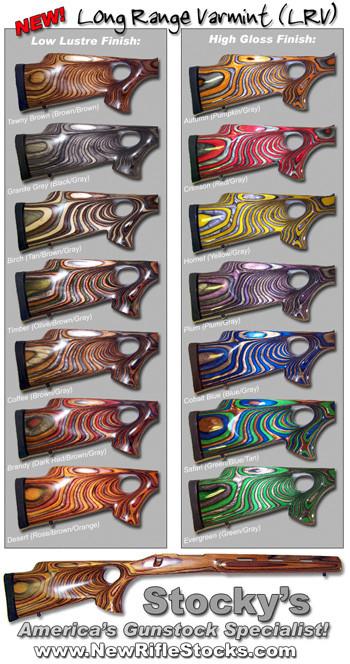 Stockys Long Range Varmint Accublock Thumbhole Riflestock Remington