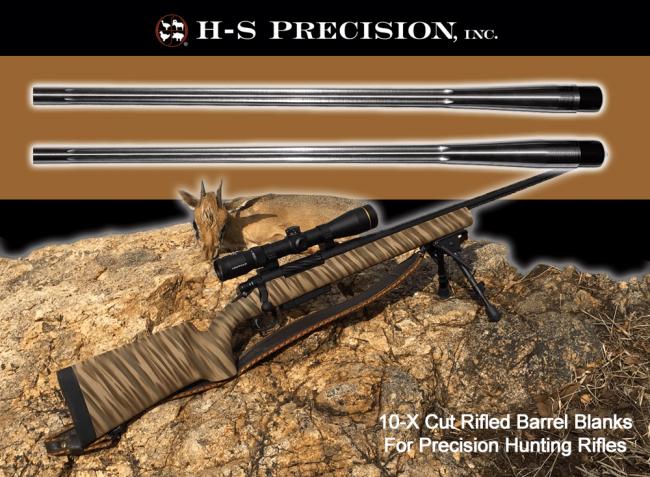 H-S Precision® Match Grade Precision Barrel Blanks