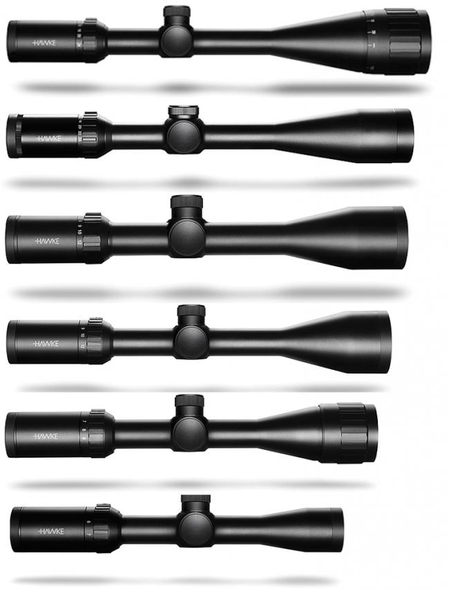 IR L4A Dot Hawke Vantage Rifle Scope
