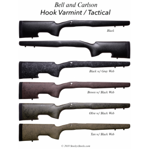 "Bell & Carlson Tactical Medalist Style 3 w/ ""Hook"" Model Long Range Browning® A Bolt WSM/WSSM"