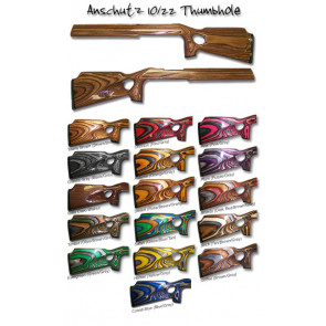"Package Deal! Anschutz Laminated Stock Designed for the Ruger® 1022® and .920"" Micro Groove Bull Barrel!"