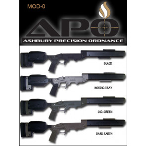 APO MOD-0 SABER®-FORSST® MODULAR RIFLE CHASSIS SYSTEMS