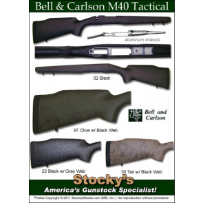 Package Deal! Bell and Carlson M40 Stock with Wyatt's Det Mag M4