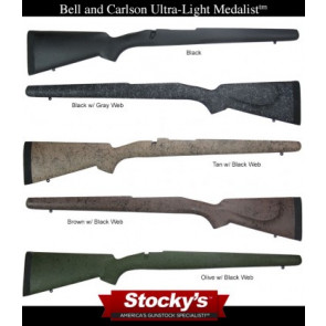 Package Deal! Bell & Carlson Medalist Ultra-Light Winchester Model 70 Short Action with M5 Stealth DM Detachable Magazine System