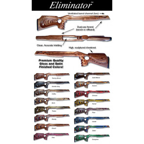 Stocky's® Eliminator Remington 700™ Pistol Grip Thumbhole Laminated Riflestock - Long and Short Action