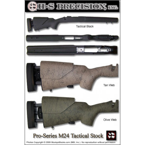 H-S Precision Pro-Series M24 Tactical Remington 700 Stocks - Adjustable LOP and or Cheek PST 006 007 011 013 024