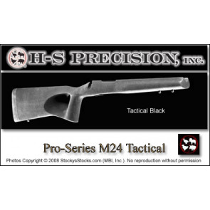 H-S Precision Pro-Series M24 Police-Urban Tactical Thumbhole Remington 700 BDL SA Stock PST 082