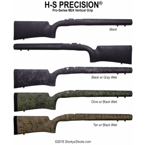 Package Deal! H-S Precision® M24 Vertical Grip Remington 700™ Stock and H-S Precision® Barrel