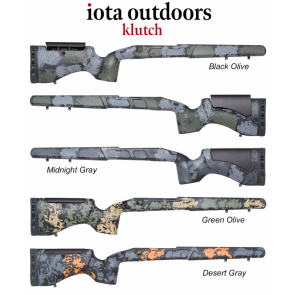 Iota Klutch - Remington 700™ Rifle Stocks and Proof Research Carbon Fiber Barrel