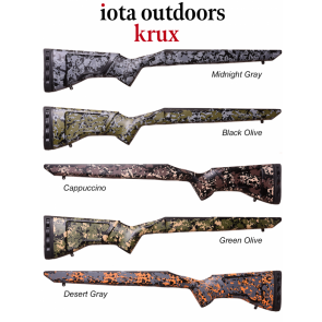Iota Krux - Remington 700™ Rifle Stocks and Proof Research Carbon Fiber Barrel