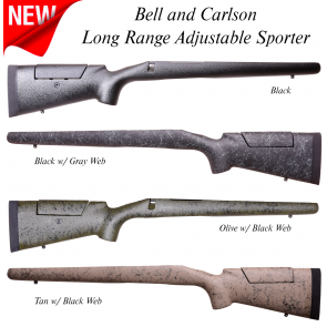 Bell and Carlson  Long Range Adjustable Sporter Remington 700 Long Action