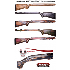 Stocky's® Long Range AccuBlock® M50™ Laminated Stock Remington 700™